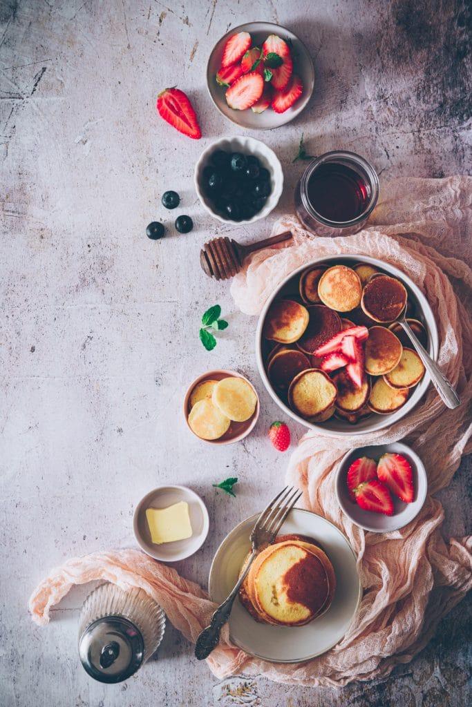 pancake photograhy stylism - confitbanane