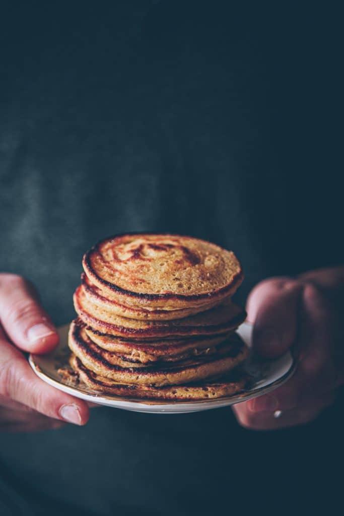 recette de pancake facile & moelleux - confitbanane