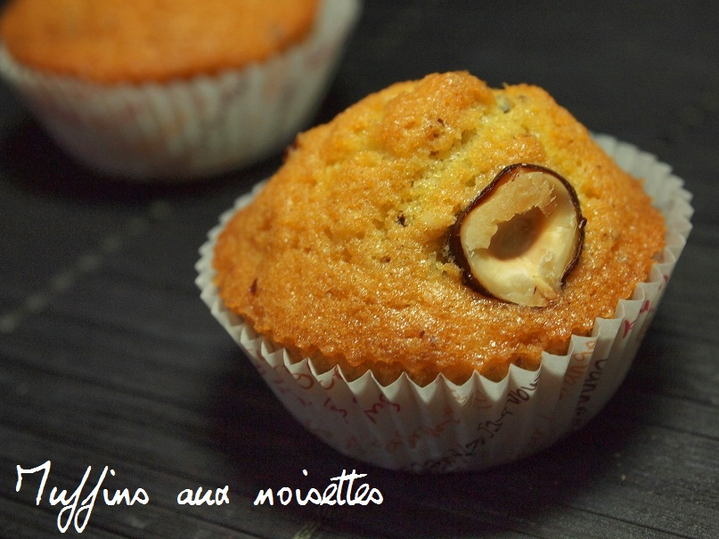 muffins noisettes