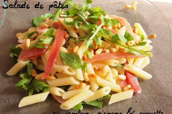 salade pignon jambon roquette