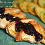 aiguillettes canard myrtilles