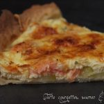 tarte courgette saumon boursin