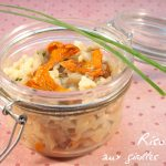 risotto girolles