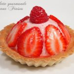 tartelette bavaroise fraises