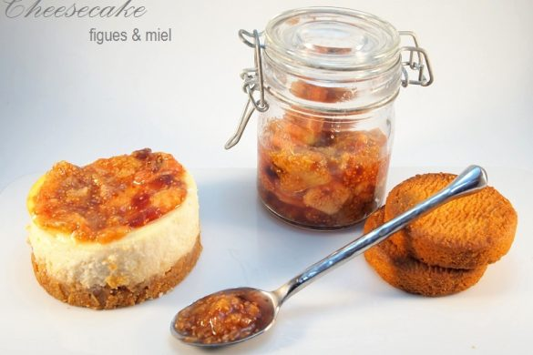 cheesecake figues miel