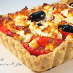tarte à la tomate et feta