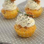 Cupcakes salés bacon noix