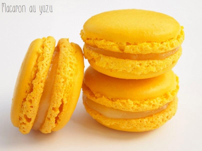 Cake Citron Vert Et Morceaux De Yuzu