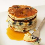 pancakes myrtilles soja