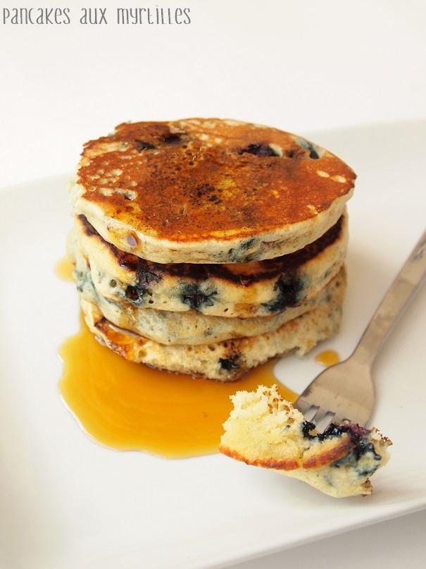 pancake aux myrtilles lait de soja vanill. Black Bedroom Furniture Sets. Home Design Ideas