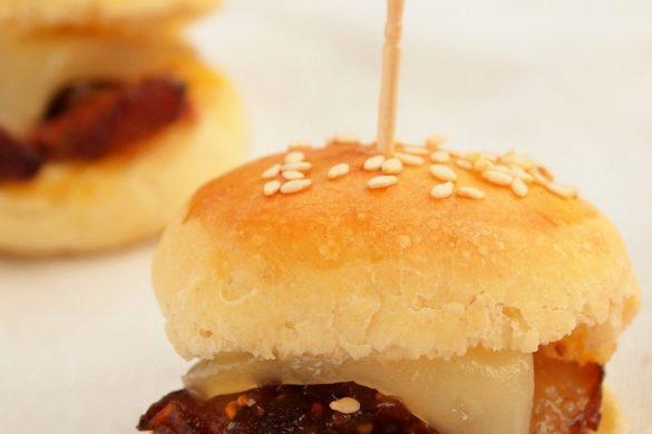 mini burger canard