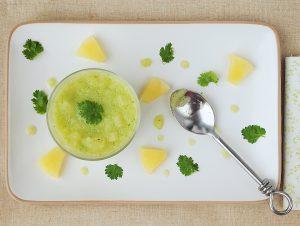 smoothie concombre ananas