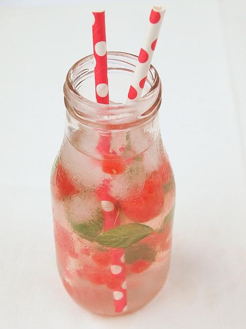detox water pastèque menthe