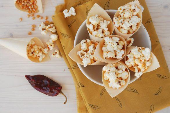 Pop-corn au piment d'Espelette et brebis