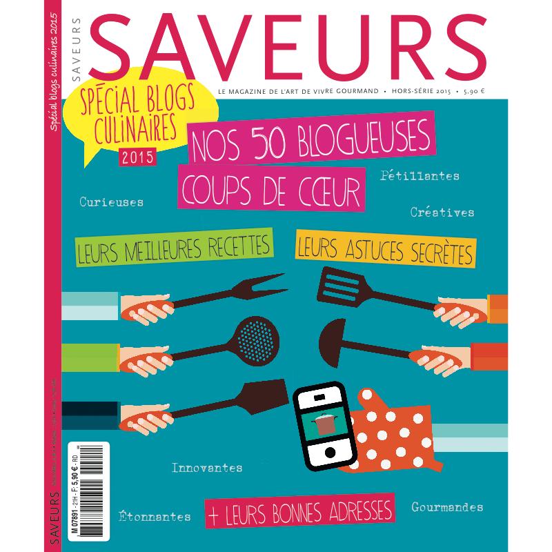 Saveurs Hors-série spécial blog culinaire