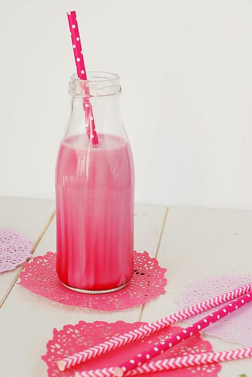 lait fraise