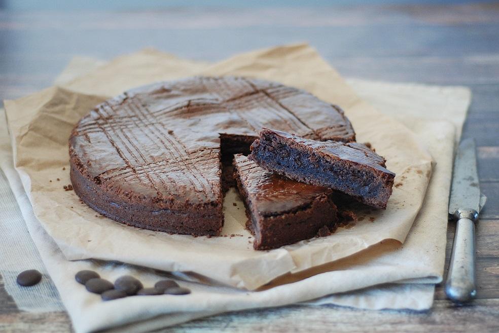 gateau basque tout chocolat