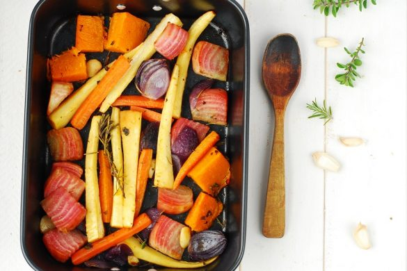 Légumes rôtis au four