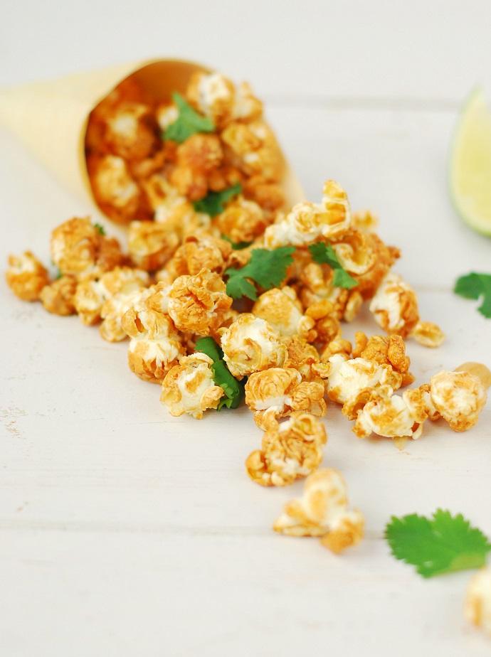 Pad thai pop corn - http://www.confitbanane.com/