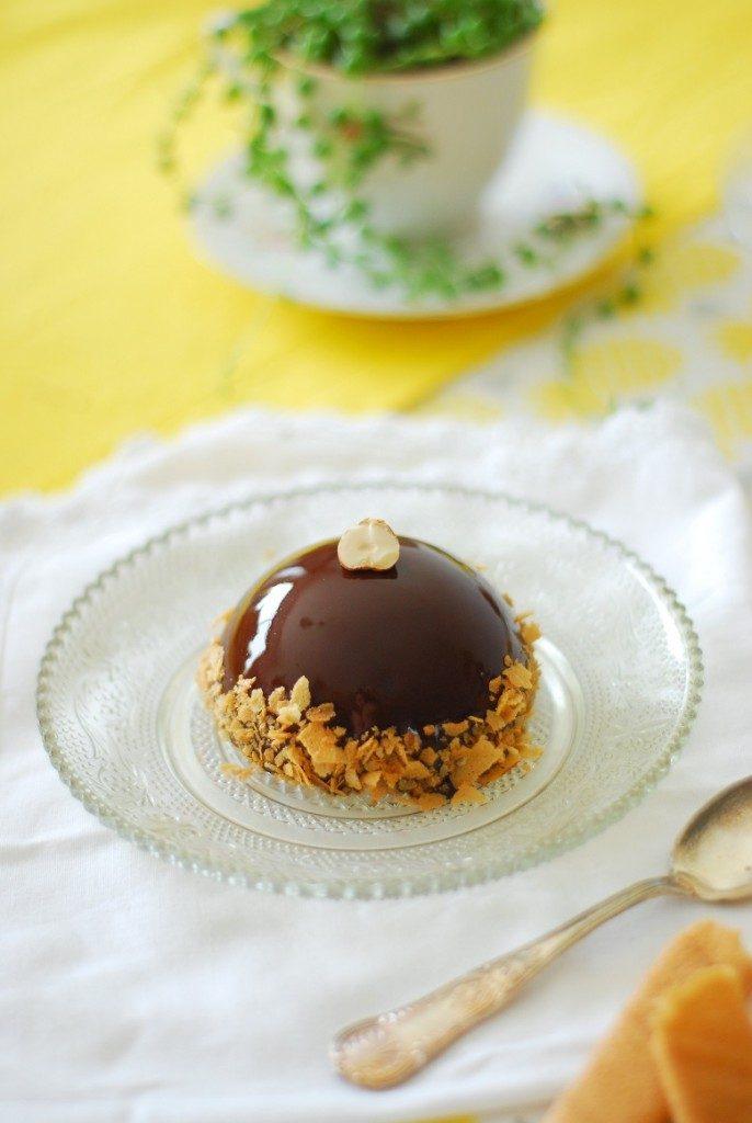 Royal chocolat dôme
