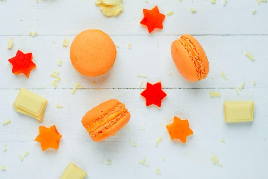 Macarons à l'abricot {meringue italienne}