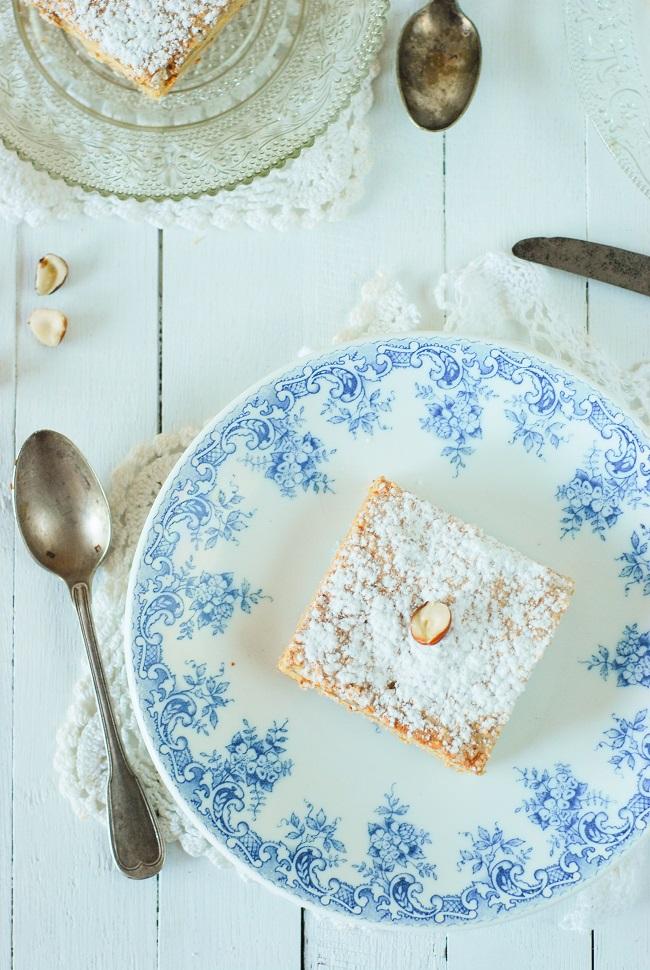 le recette du gateau russe avec son biscuit amandes et créme praliné comme à Oloron