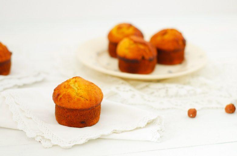 Que faire avec des bananes trop mures? c'est petits muffins à la banane et noisette #muffins #banana