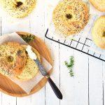 La recette du pain à bagel fait maison comme a new york -- recette de confit banane
