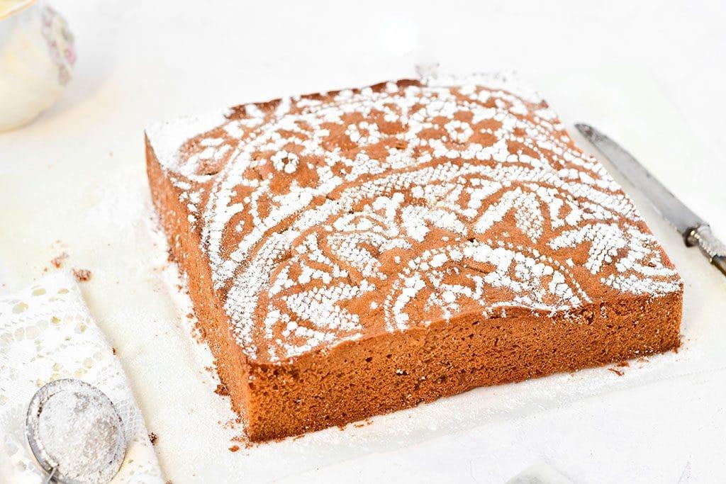 recette de cake au praliné --Blog : confit banane - #cake #praliné