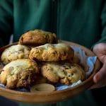 LA recette de #cookies de Pierre Marcolini au #chocolat -- Confit Banane