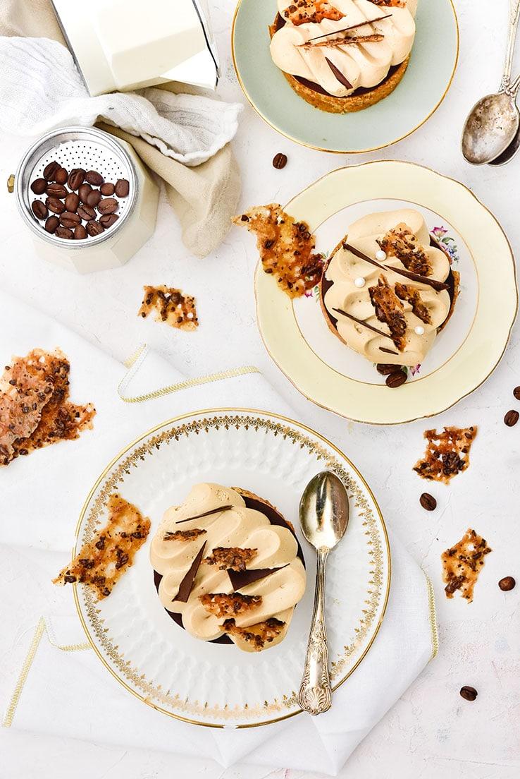 Une recette d'opéra sans crème au beurre? cette recette est faite pour vous!! - par Confit Banane