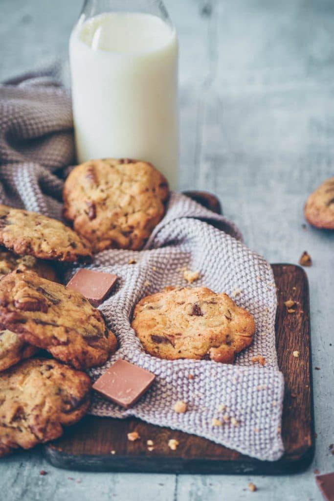 LA recette ultime de cookies aux 3 chocolats et noix de pécan -- recette de Confit Banane