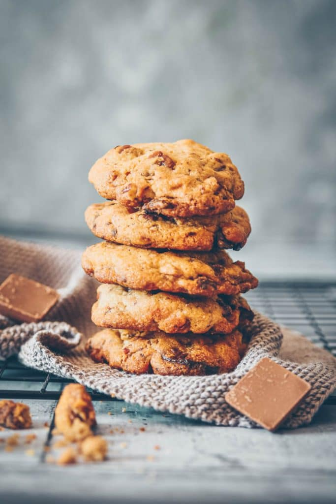 LA recette de cookies au 3 chocolats et noix de pécan -- recette de Confit Banane