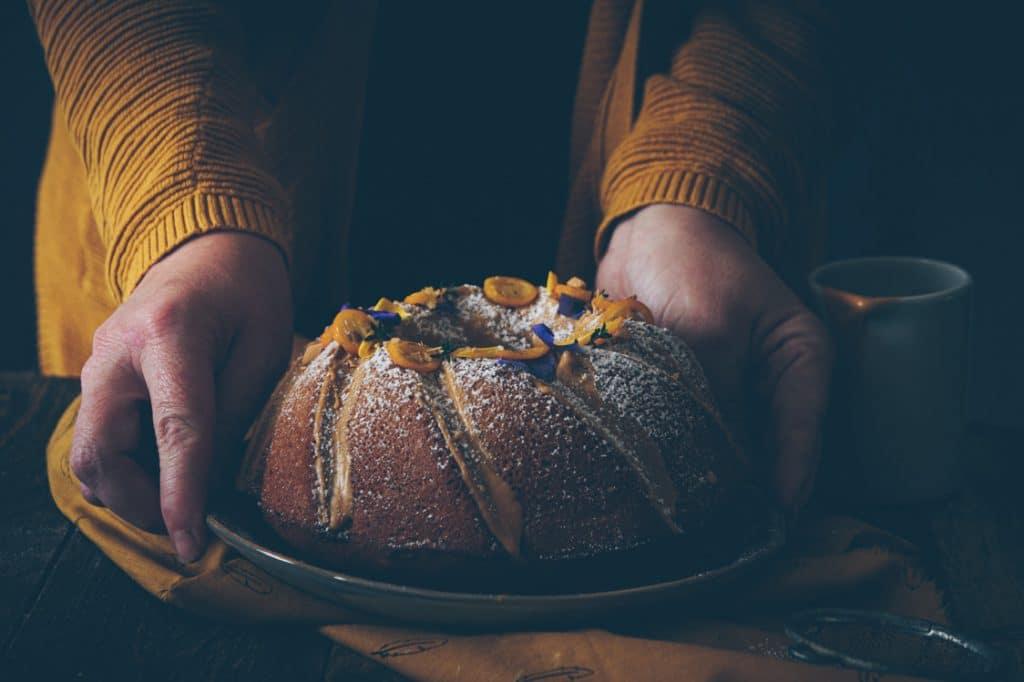 recipes bundcake praliné photography