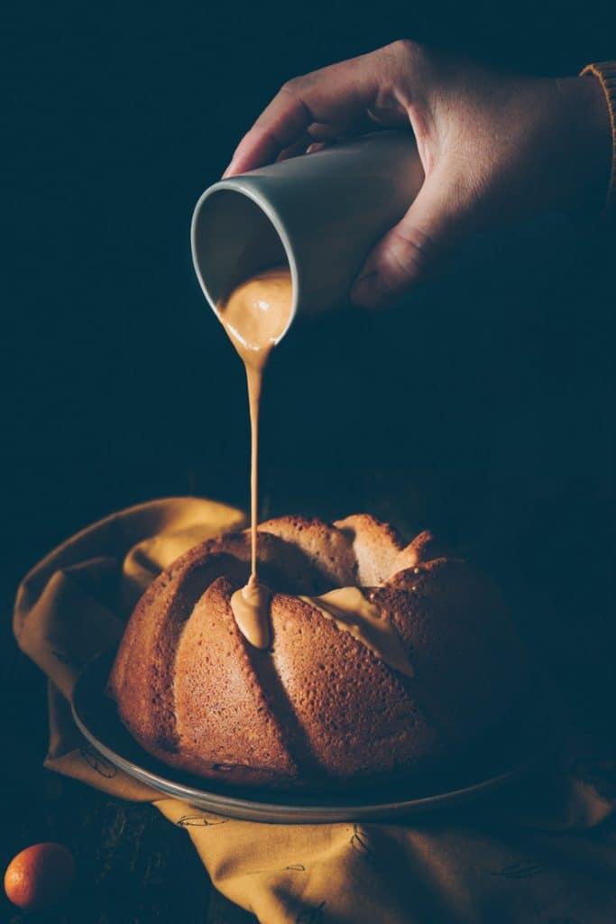 recette de caje au praliné et dulcey - confitbanane