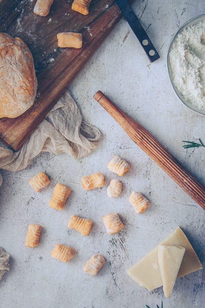 comment faire des gnocchis de patate douce maison - confitbanane