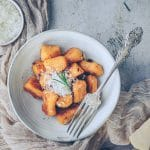 recette de gnocchis maison à la patate douce - confitbanane