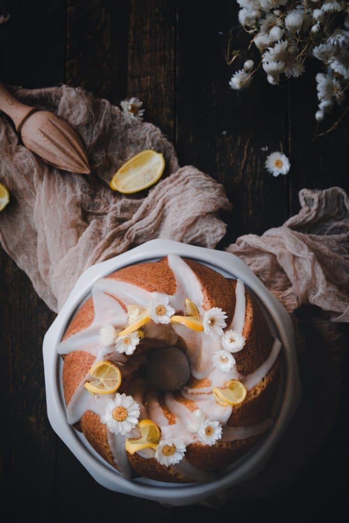 bundt cake au beurre noisette & citron - confitbanane