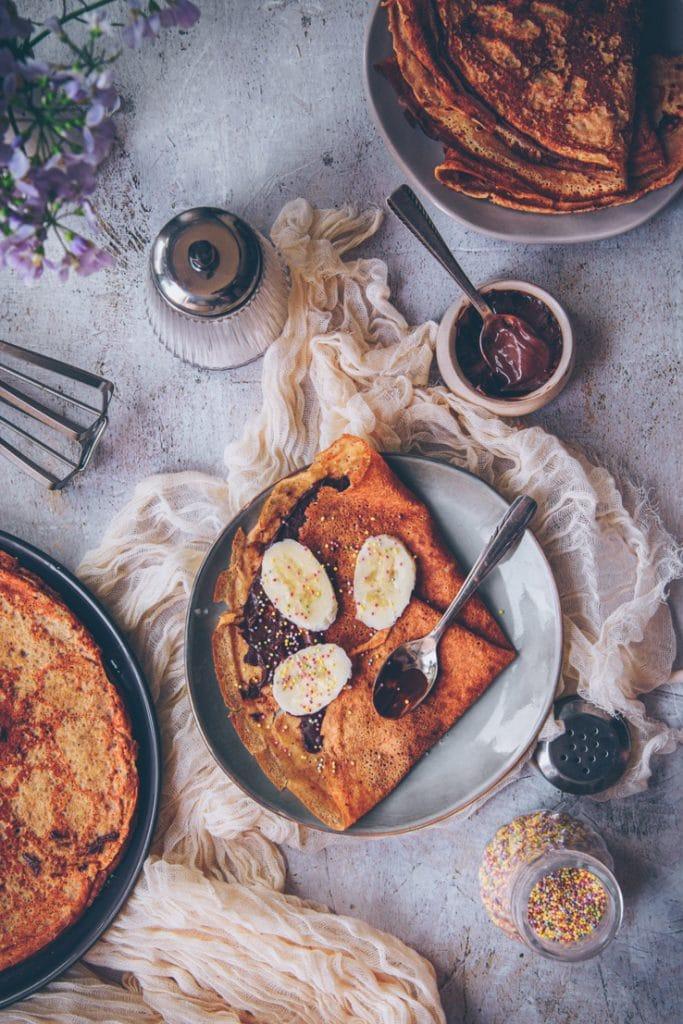 recette de crêpes légères à la farine de petit épeautre