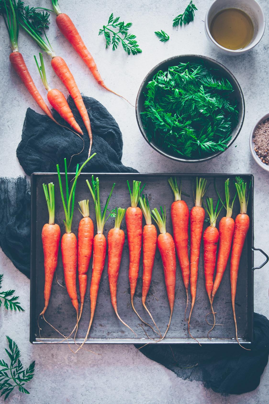 recette pour cuisiner les fanes de carotte - confitbanane