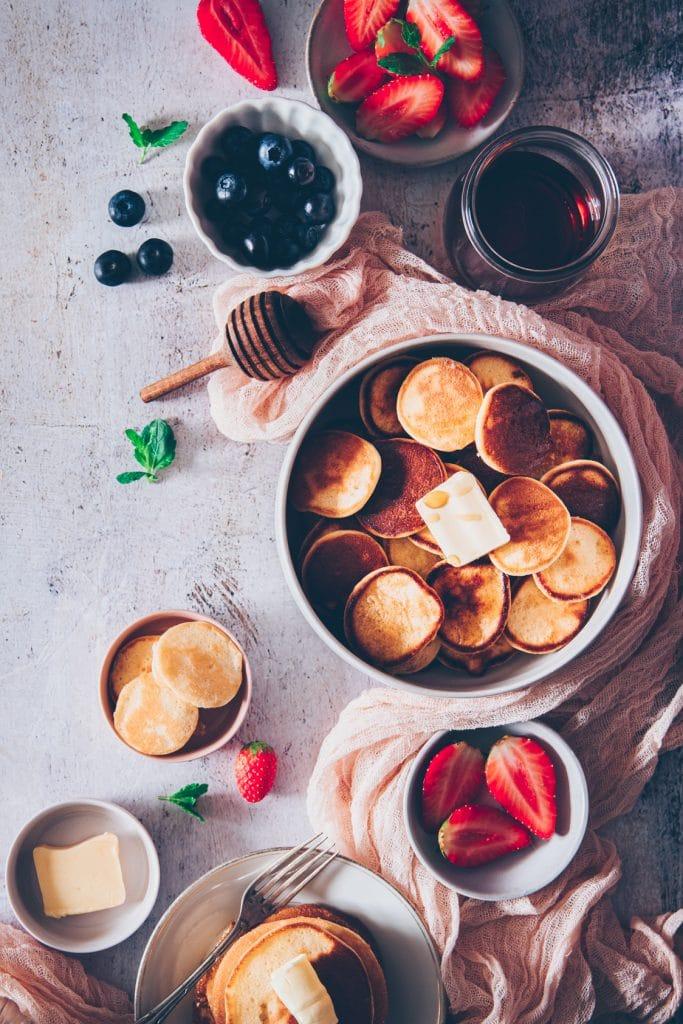 recette baby pancake - confitbanane