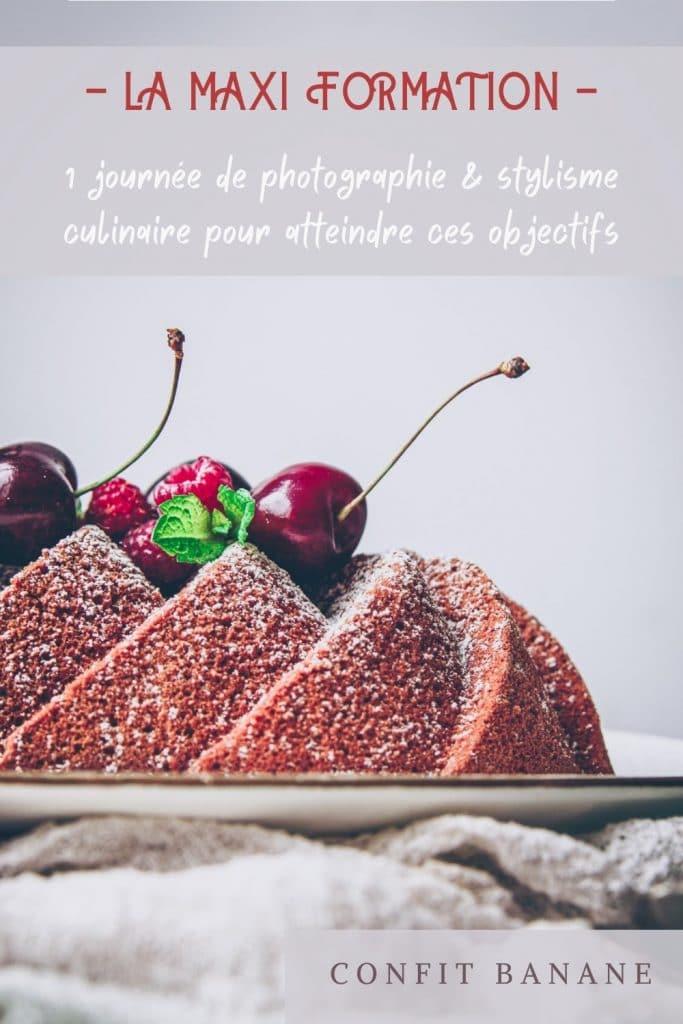 formation complète d'une jounée de photographie & stylisme culinaire - confitbanane