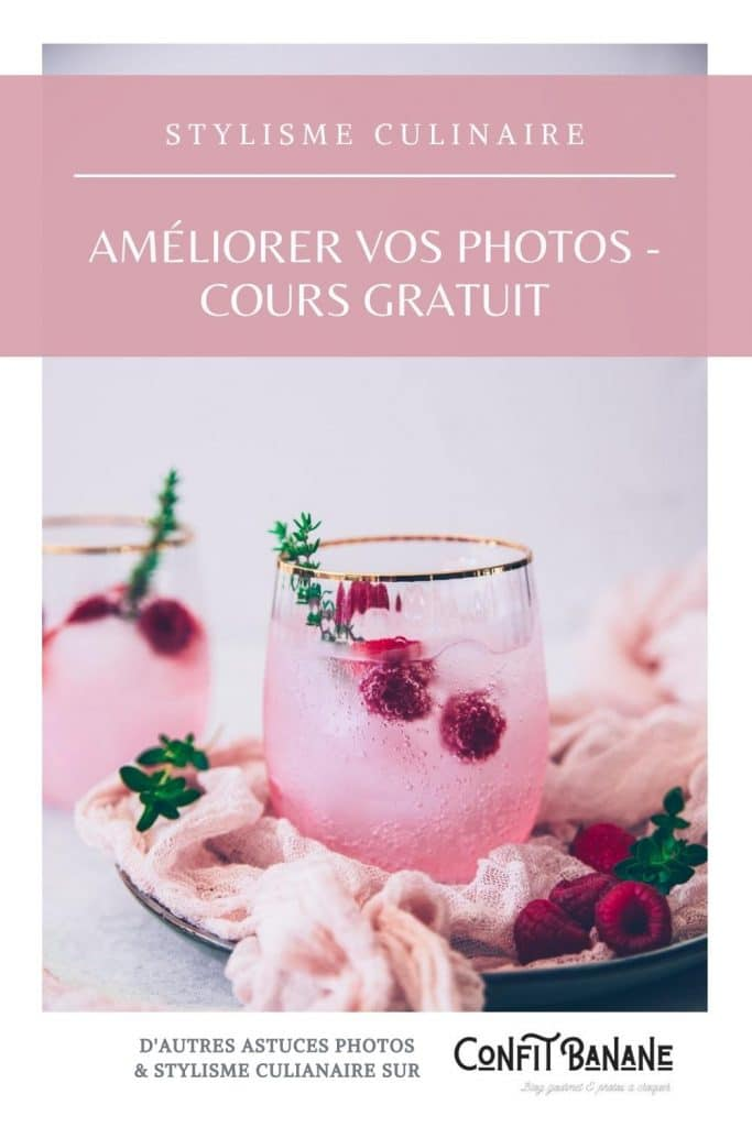 cours gratuit de photographie culinaire - confitbanane
