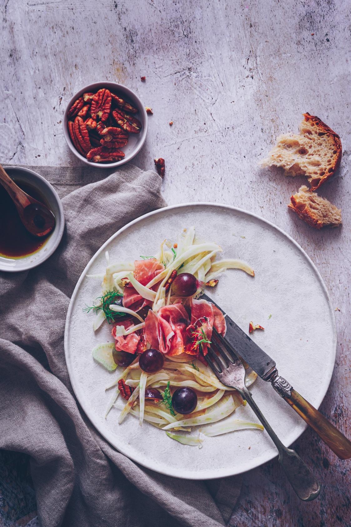 recette de salade au fenouil pour ceux qui aime pas le fenouil - confitbanane