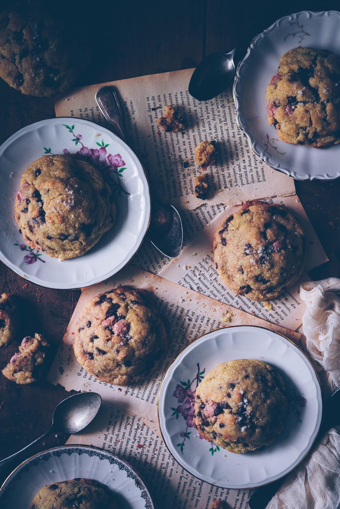 recette et photo de cookies aux pépites de chocolat