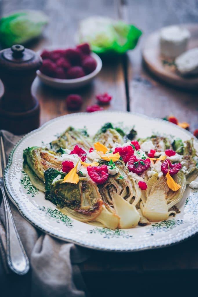 Salade originale de chèvre - confitbanane