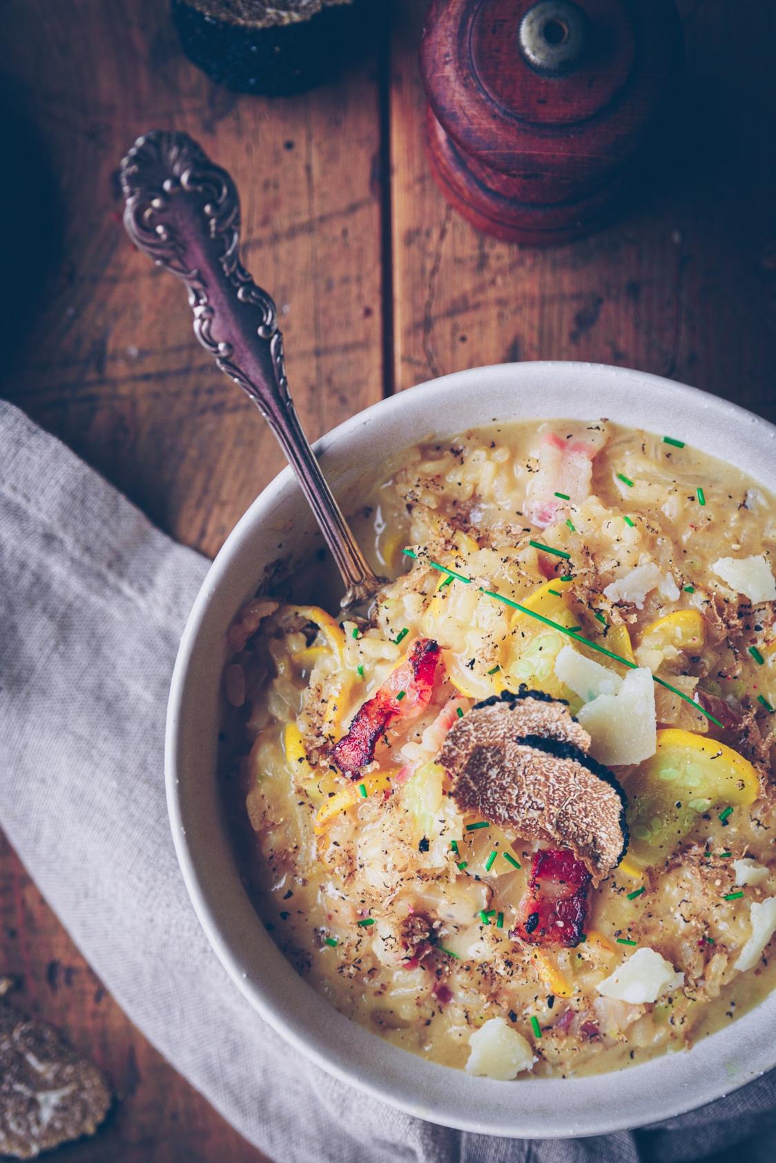 recettes de risotto pour l'automne - confitbanane