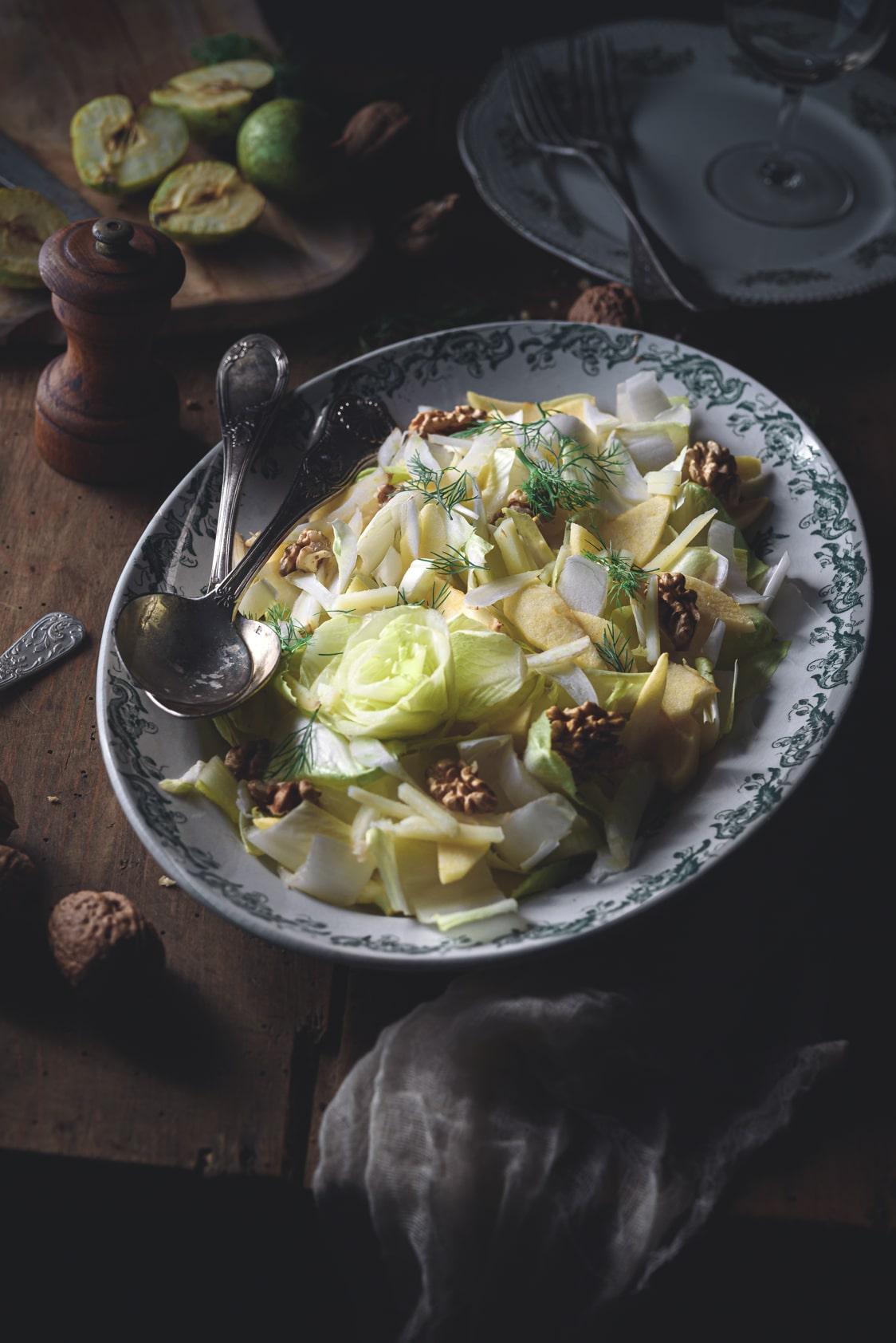 La meilleure salade d'endives et pommes