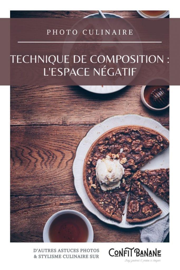 L'utilisation de l'espace négatif en photographie culinaire