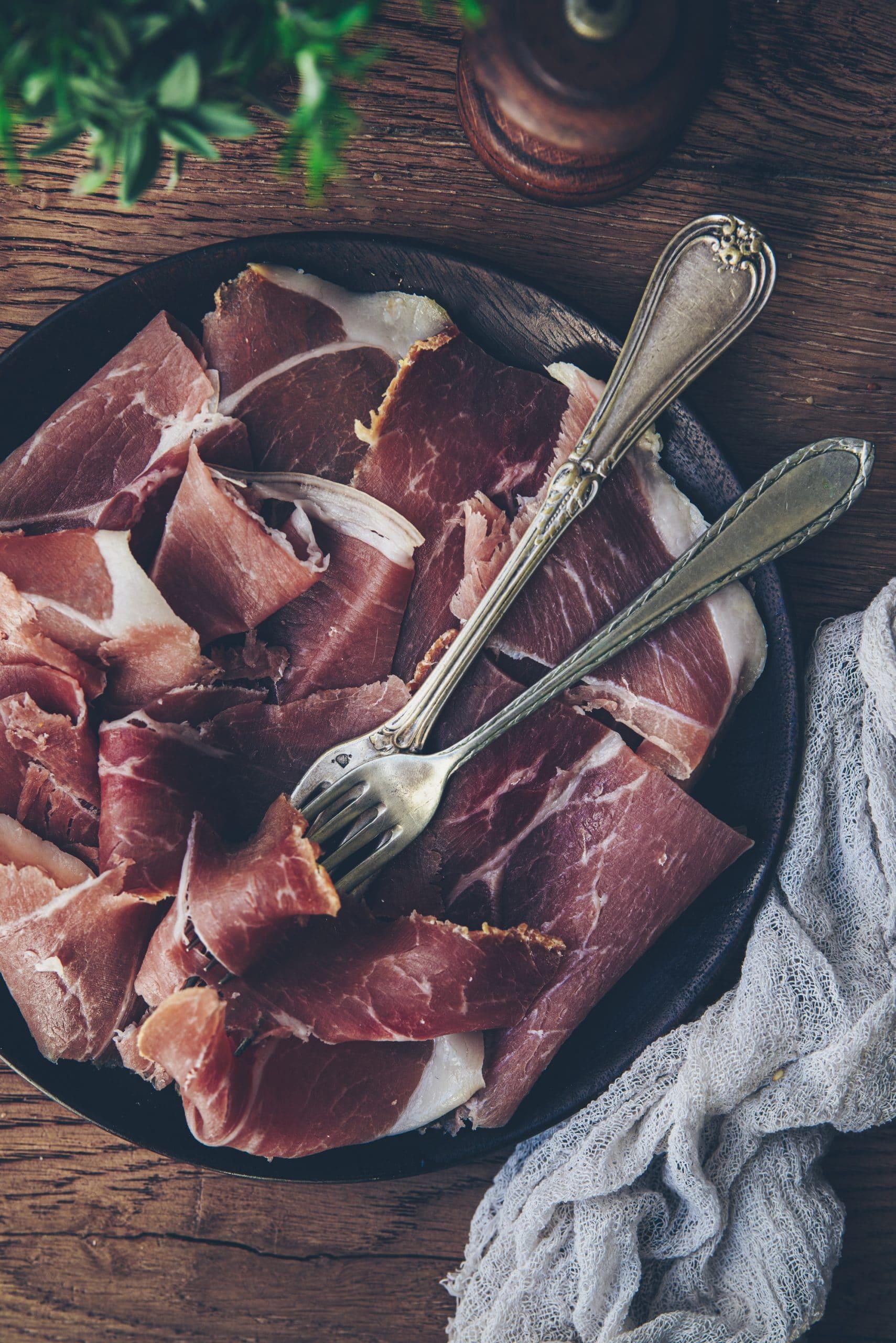 Jambon porc noir de Bigorre
